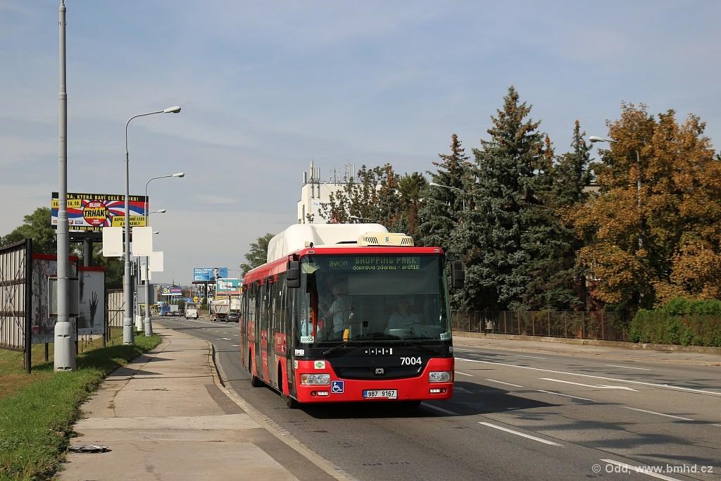 Fotogalerie » SOR NBG 12 9B7 9167 7004 | Brno | Komárov | Hněvkovského