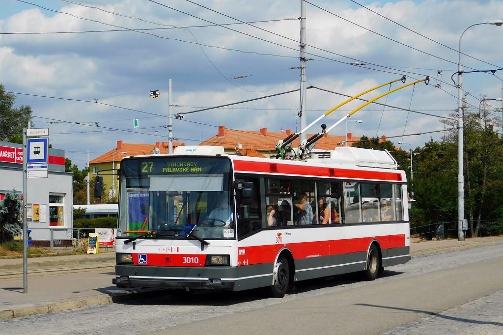 Fotogalerie » Škoda 21Tr 3010 | Brno | Židenice | Stará Osada