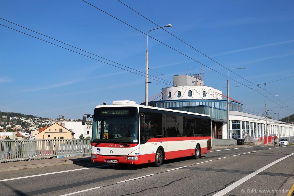 Fotogalerie » Irisbus Crossway LE 12M 7B3 3916 7806 | Brno | Komín | Veslařská