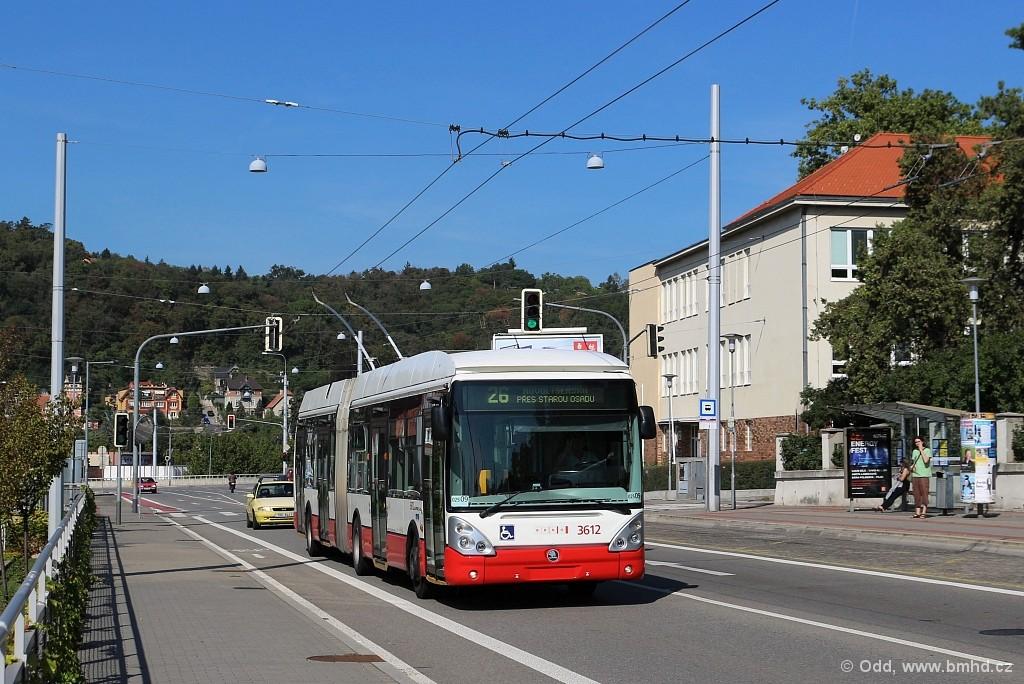 Fotogalerie » Škoda 25Tr Citelis 1B 3612 | Brno | Pisárky | Hlinky