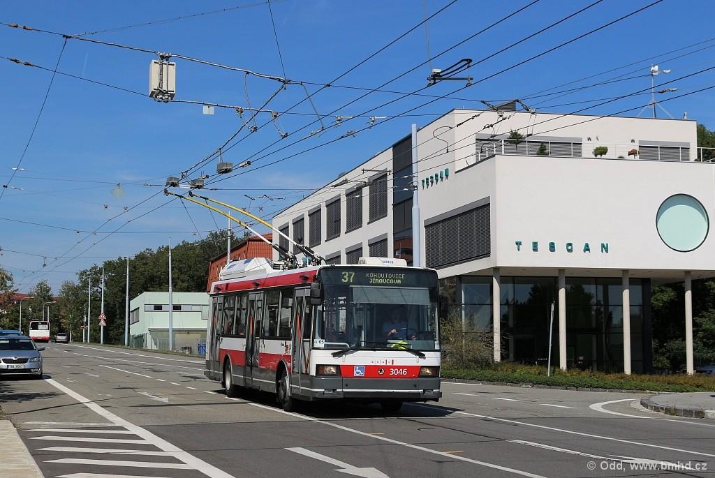 Fotogalerie » Škoda 21Tr 3046 | Brno | Kohoutovice | Libušina třída
