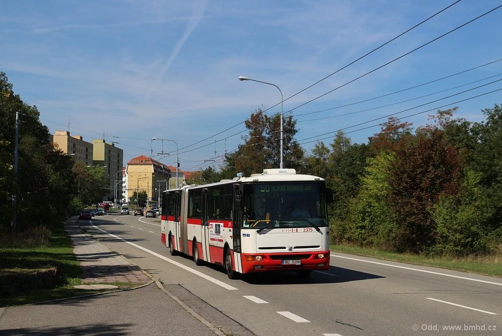 Fotogalerie » Karosa B961E.1970 3B2 5329 2375 | Brno | Kohoutovice | Chironova