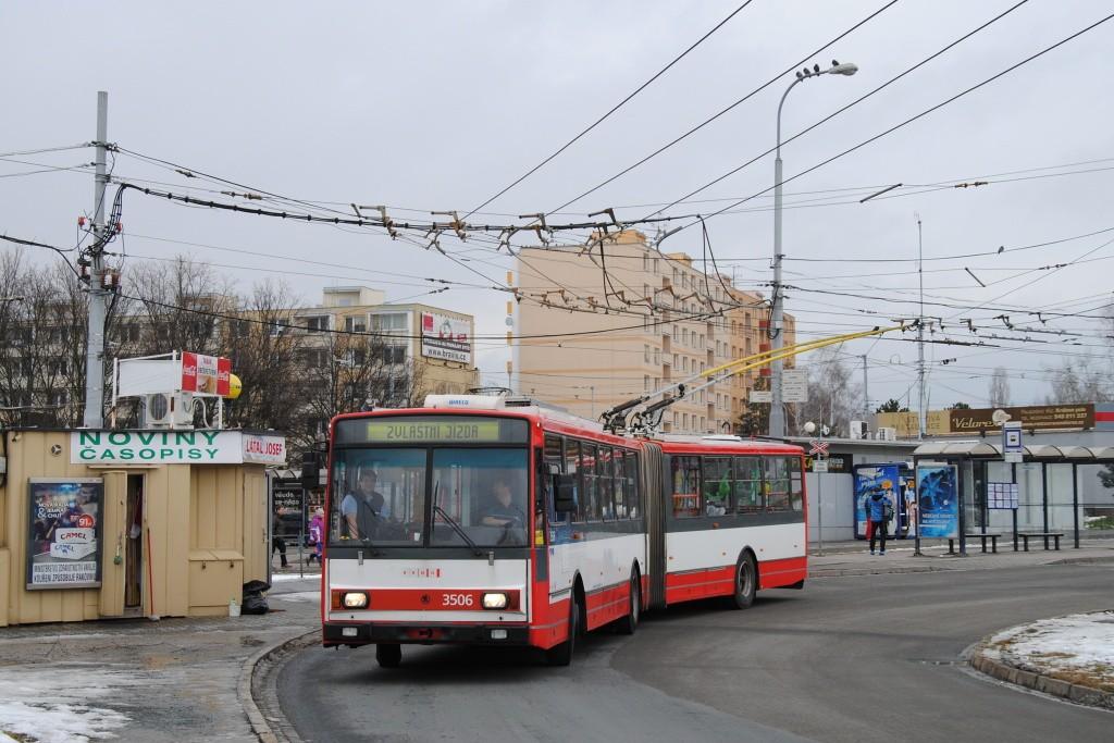 Fotogalerie » Škoda 15TrM 3506 | Brno | Židenice | Stará Osada