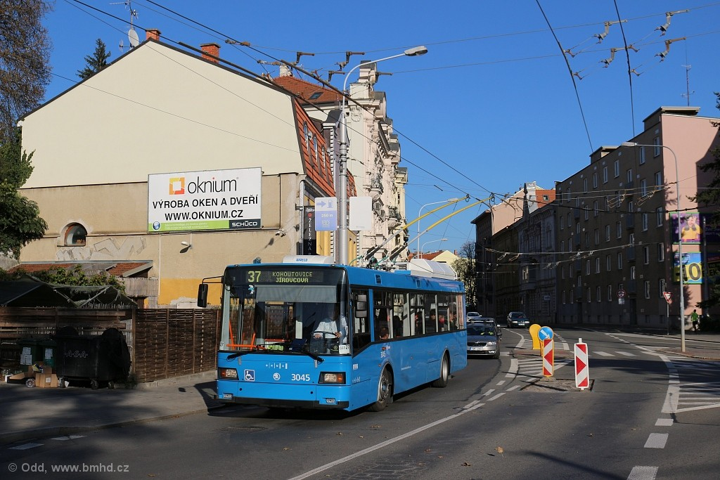 Fotogalerie » Škoda 21Tr 3045   Brno   Staré Brno   Hlinky