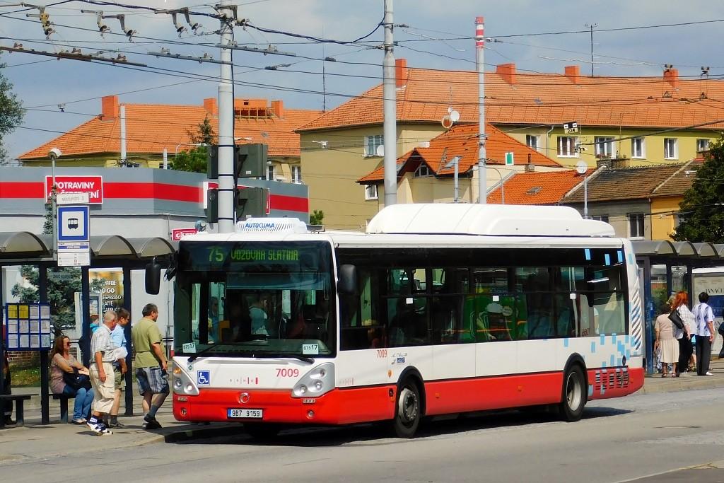 Fotogalerie » Irisbus Citelis 12M CNG 9B7 9159 7009 | Brno | Židenice | Stará Osada