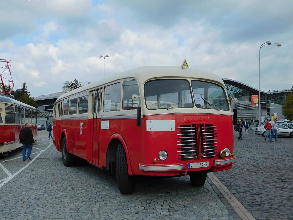 Fotogalerie » Sodomka Škoda 706 RO V 4482 22 | Brno | Pisárky | Výstaviště BVV
