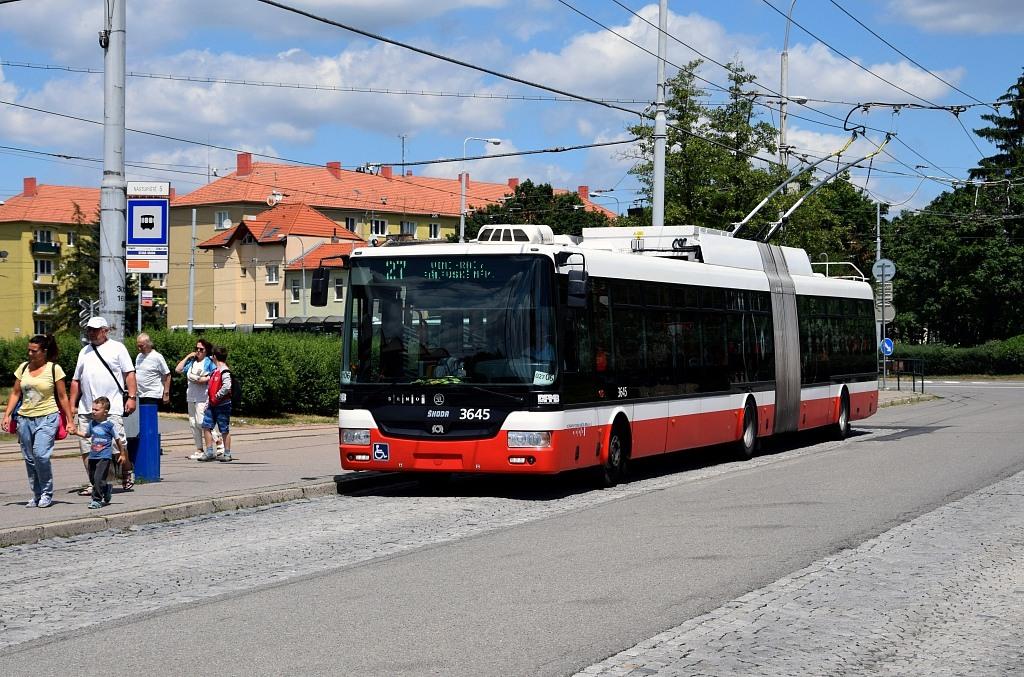 Fotogalerie » Škoda 31Tr 3645 | Brno | Židenice | Stará Osada