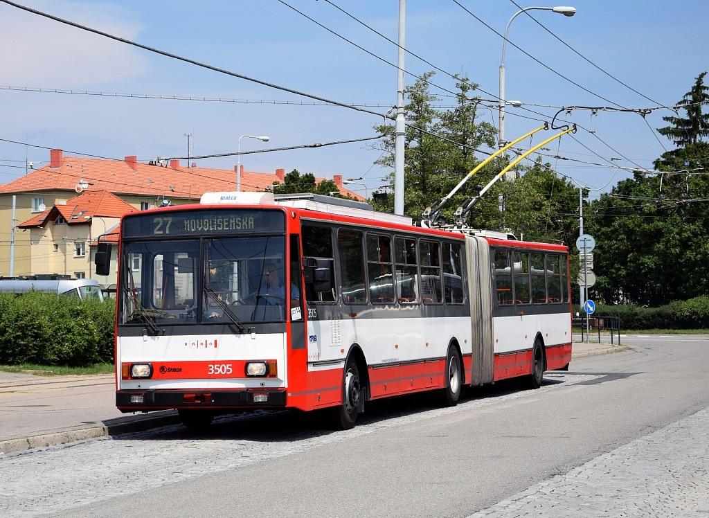 Fotogalerie » Škoda 15TrM 3505 | Brno | Židenice | Stará Osada