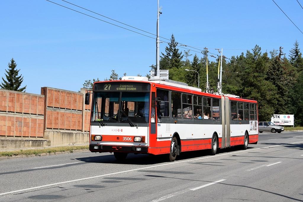 Fotogalerie » Škoda 15TrM 3506   Brno   Židenice   Rokytova