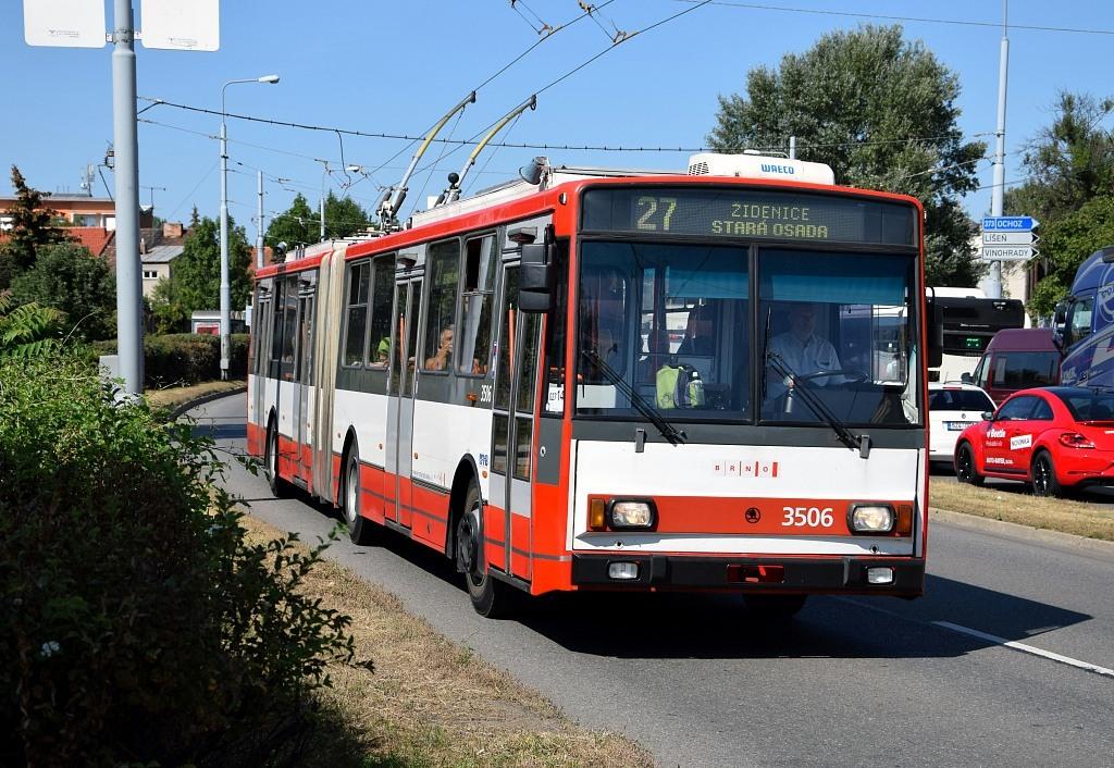 Fotogalerie » Škoda 15TrM 3506 | Brno | Židenice | Svatoplukova