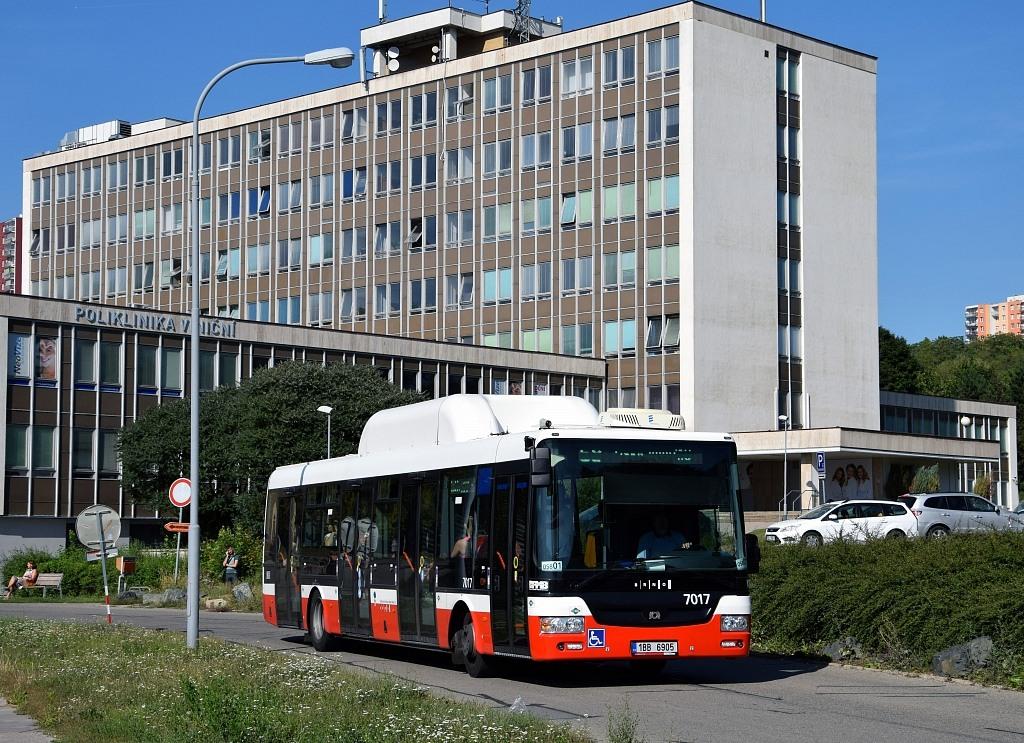 Fotogalerie » SOR NBG 12 1BB 6905 7017 | Brno | Židenice | Viniční