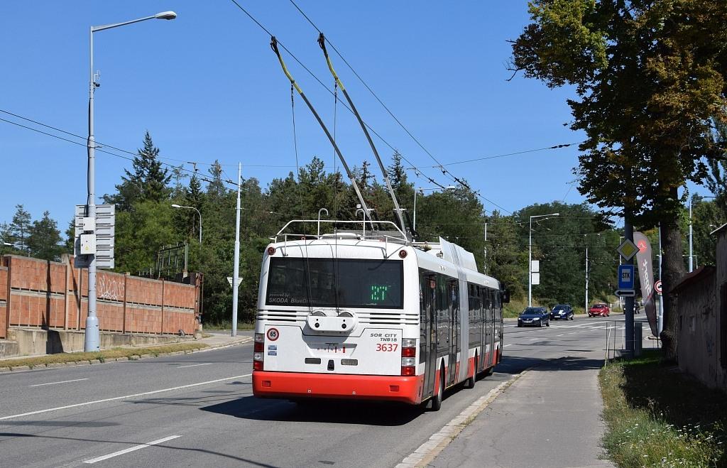 Fotogalerie » Škoda 31Tr 3637 | Brno | Židenice | Rokytova