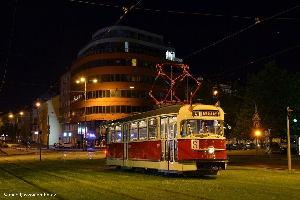 Fotogalerie » Tatra T2 1435 | Brno | střed | Nové sady