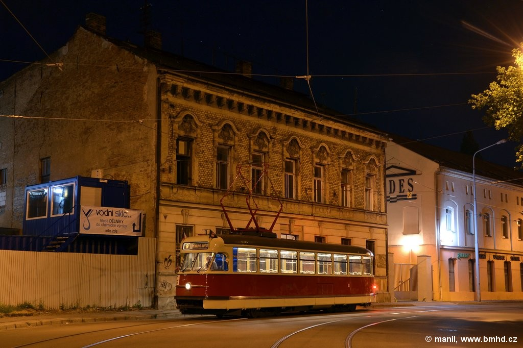 Fotogalerie » Tatra T2 1435 | Brno | Trnitá | Dornych