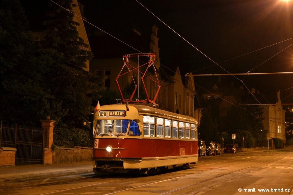 Fotogalerie » Tatra T2 1435   Brno   střed   Údolní   Všetičkova