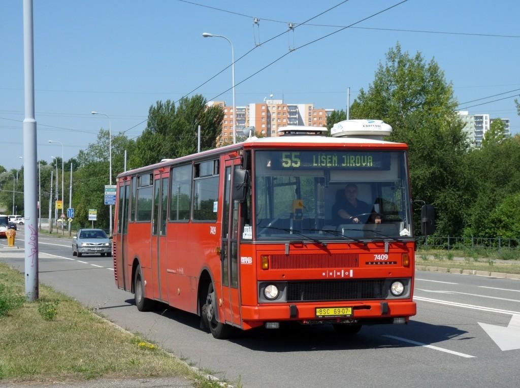 Fotogalerie » Karosa B731.1669 BSC 69-07 7409 | Brno | Vinohrady | Novolíšeňská