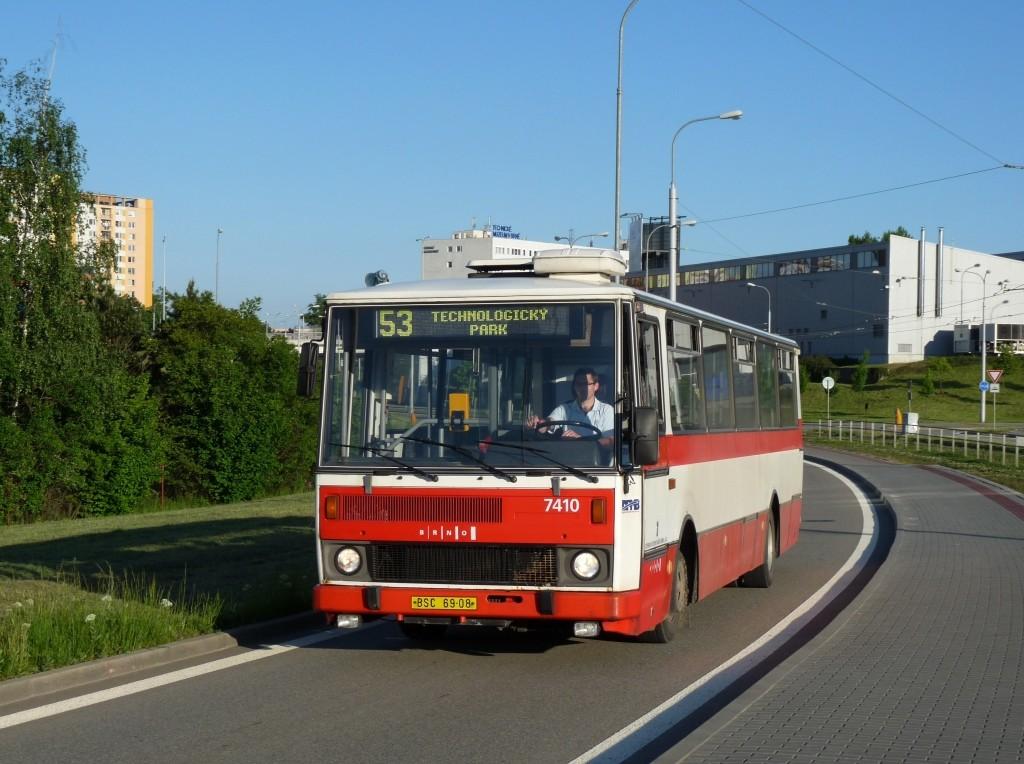 Fotogalerie » Karosa B731.1669 BSC 69-08 7410 | Brno | Královo Pole | Purkyňova