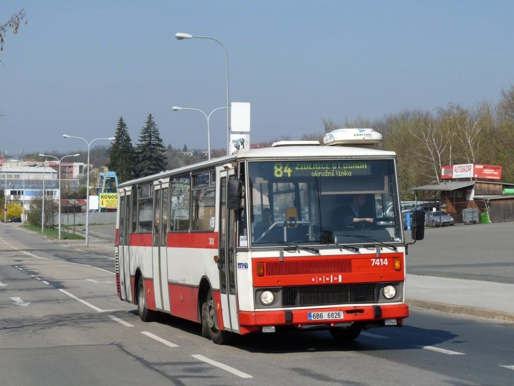 Fotogalerie » Karosa B731.1669 6B6 6826 7414 | Brno | Královo Pole | Křižíkova