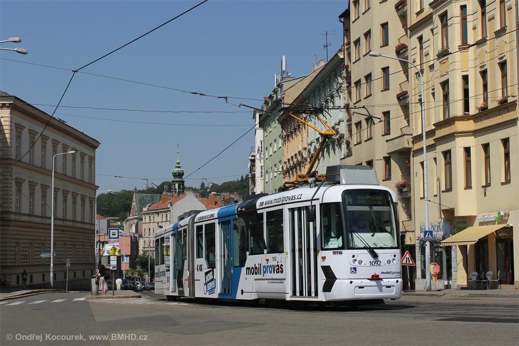 Fotogalerie » Pragoimex VarioLF2R.E 1092 | Brno | Staré Brno | Pekařská