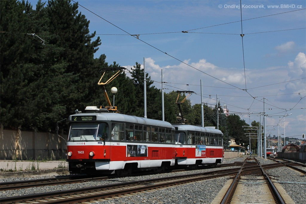 Fotogalerie » Pragoimex T3R.PV 1603   Pragoimex T3R.PV 1561   Brno   Štýřice   Vídeňská