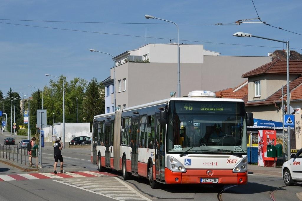 Fotogalerie » Irisbus Citelis 18M 5B7 4535 2607   Brno   Černá Pole   Merhautova   Štefánikova čtvrť