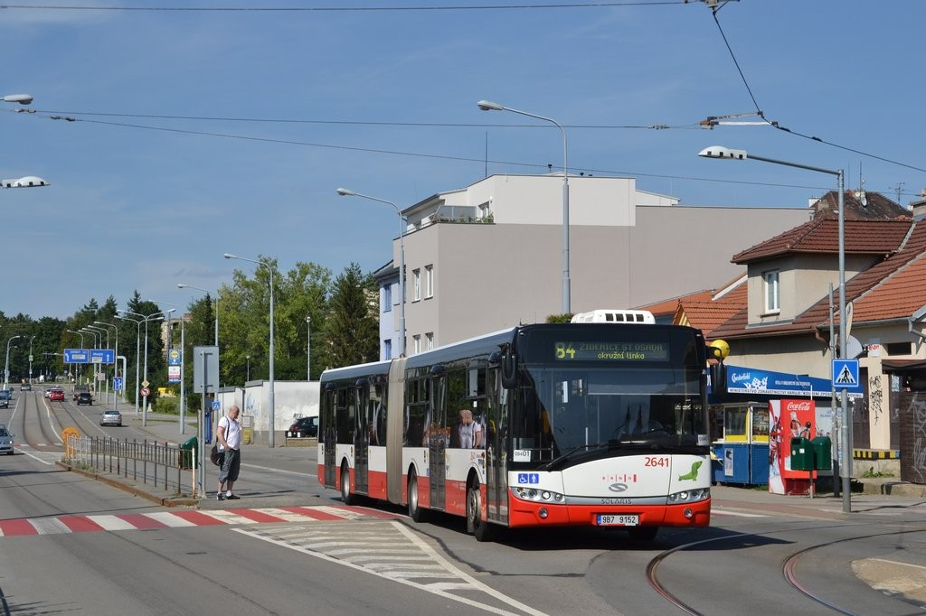 Fotogalerie » Solaris Urbino 18 III 9B7 9152 2641 | Brno | Černá Pole | Merhautova | Štefánikova čtvrť