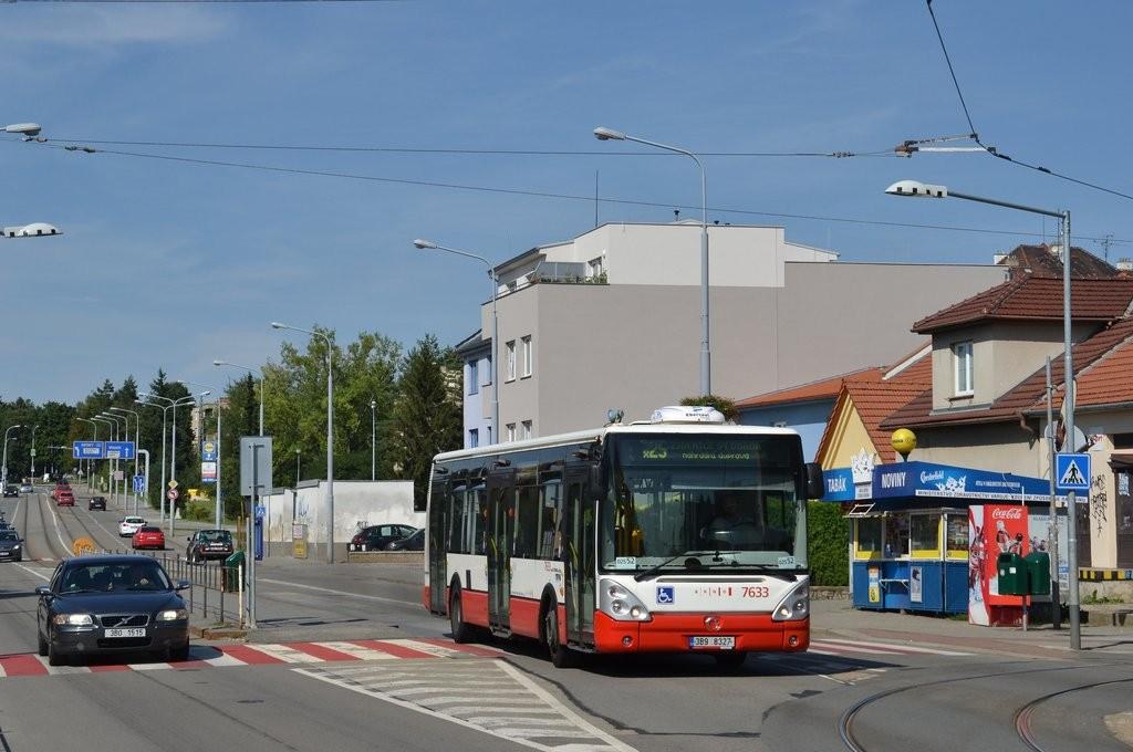 Fotogalerie » Irisbus Citelis 12M 3B9 8327 7633 | Brno | Černá Pole | Merhautova | Štefánikova čtvrť
