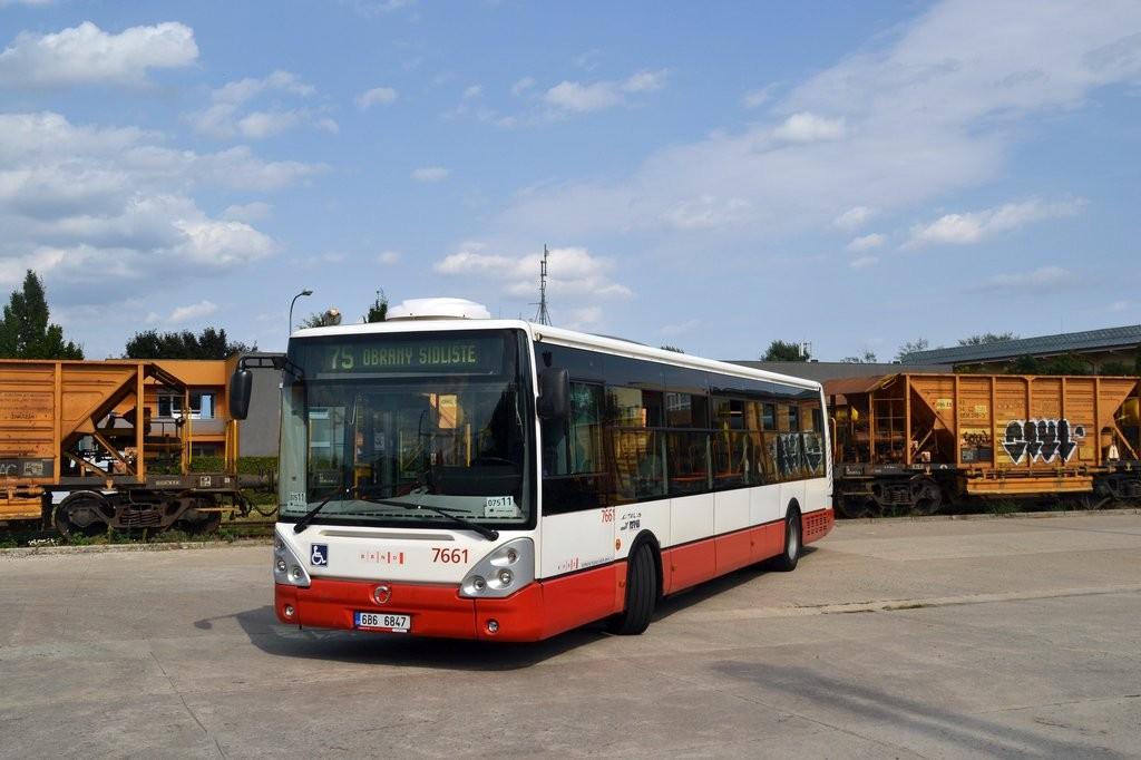 Fotogalerie » Irisbus Citelis 12M 6B6 6847 7661 | Brno | Slatina | Drážní | Slatina, nádraží