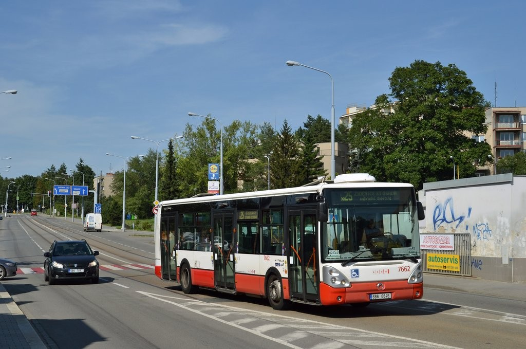 Fotogalerie » Irisbus Citelis 12M 6B6 6846 7662 | Brno | Černá Pole | Merhautova