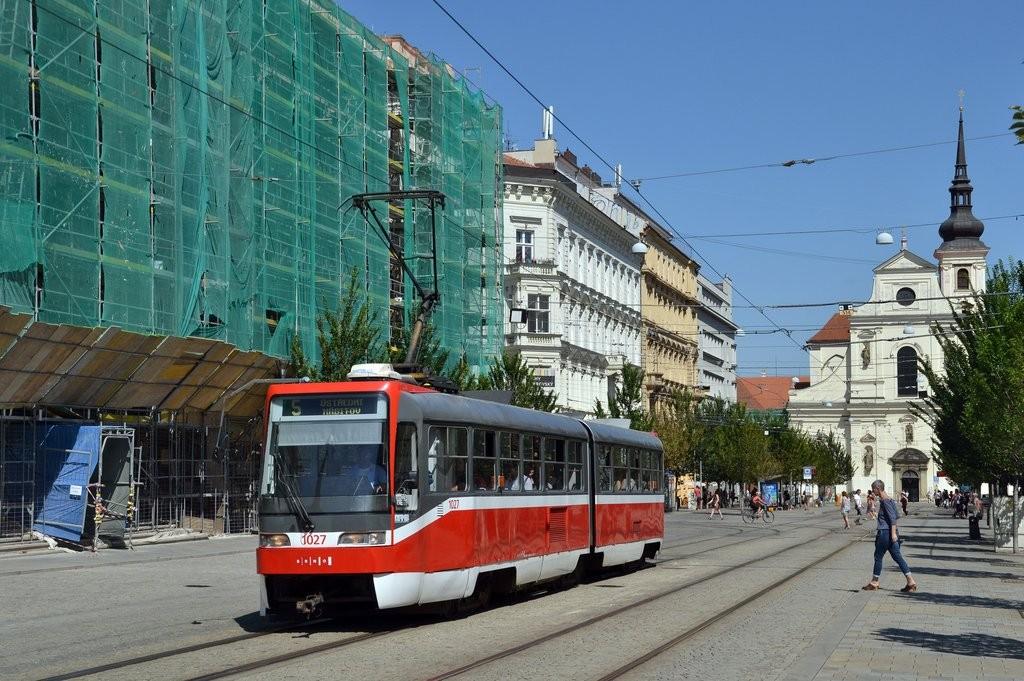 Fotogalerie » ČKD Tatra K2R03 1027 | Brno | střed | Joštova
