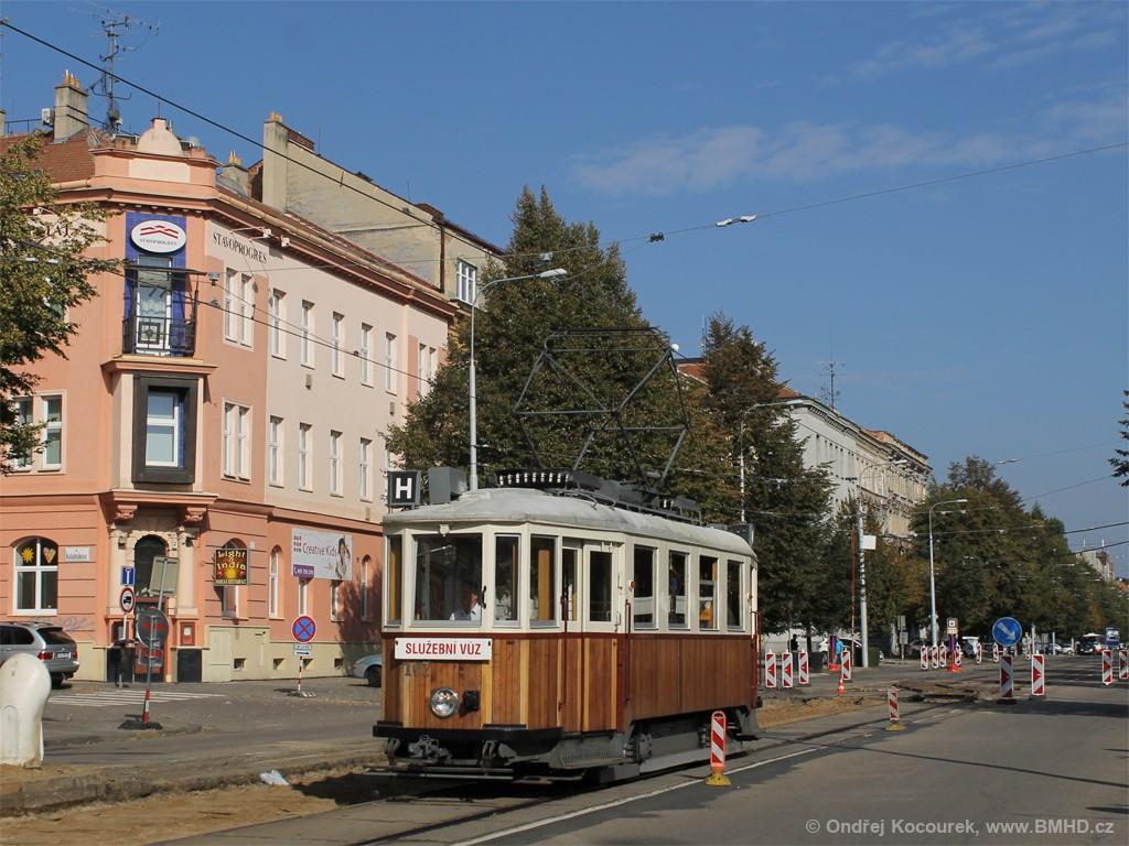Fotogalerie » KPS Brno mv6.3 107 | Brno | Královo Pole | Štefánikova