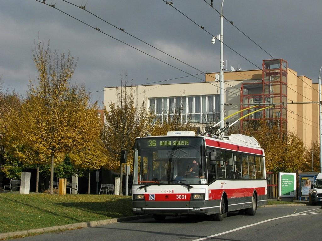 Fotogalerie » Škoda 21TrIGCT 3061 | Brno | Žabovřesky | Přívrat