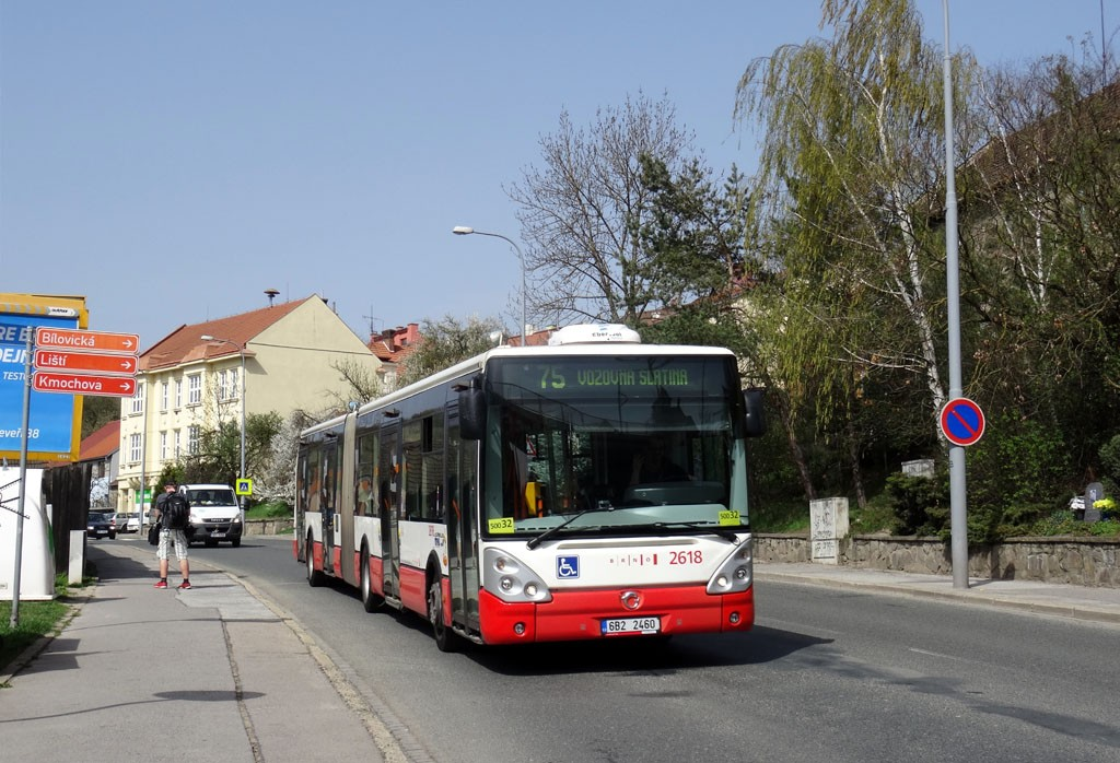 Fotogalerie » Irisbus Citelis 18M 6B2 2460 2618   Brno   Obřany   Fryčajova