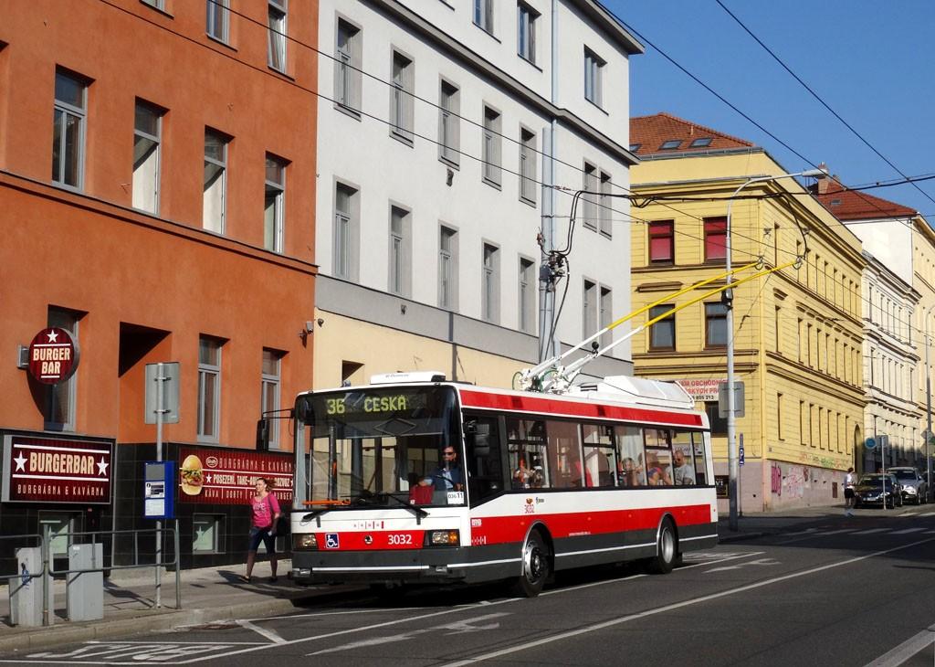 Fotogalerie » Škoda 21Tr 3032 | Brno | střed | Kounicova | Smetanova