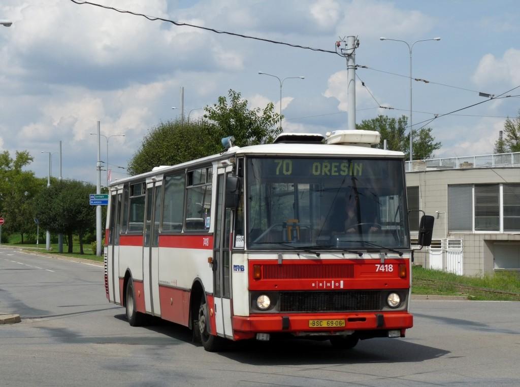 Fotogalerie » Karosa B731.1669 BSC 69-06 7418 | Brno | Královo Pole | Kosmova