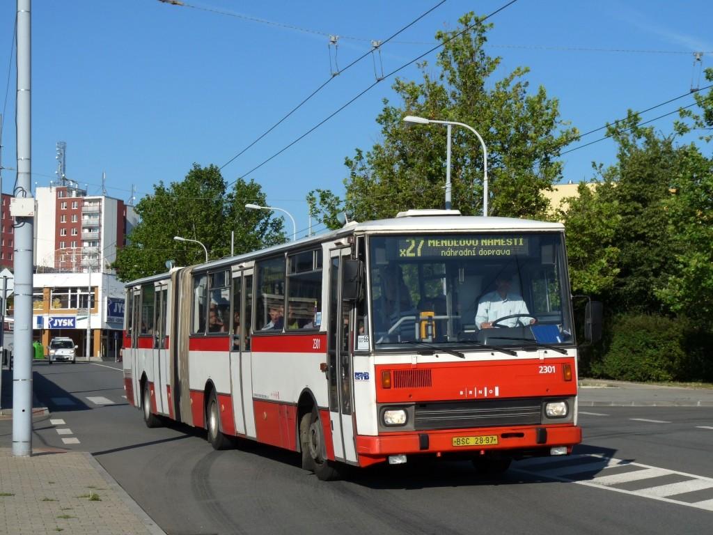 Fotogalerie » Karosa B741.1916 BSC 28-97 2301 | Brno | Vinohrady | Bzenecká