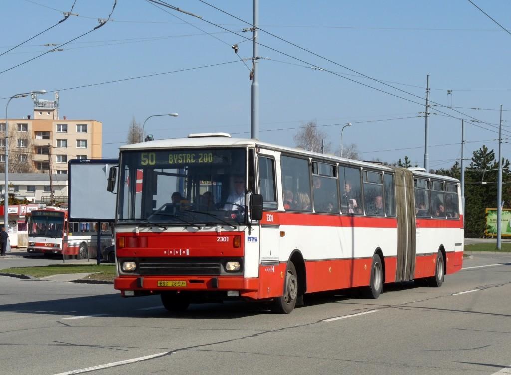 Fotogalerie » Karosa B741.1916 BSC 28-97 2301 | Brno | Kohoutovice | Libušina třída