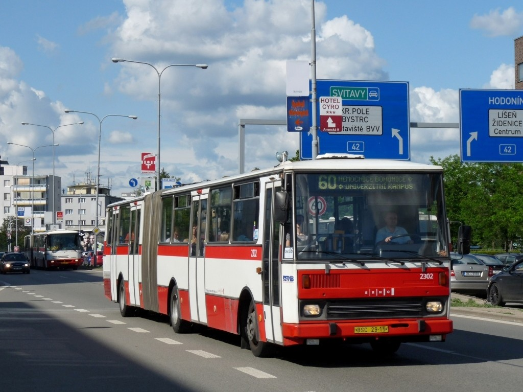 Fotogalerie » Karosa B741.1916 BSC 29-15 2302 | Brno | Štýřice | Heršpická