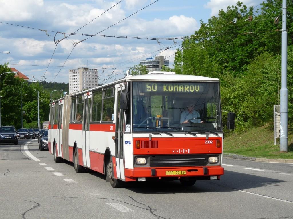 Fotogalerie » Karosa B741.1916 BSC 29-15 2302   Brno   Kohoutovice   Libušina třída