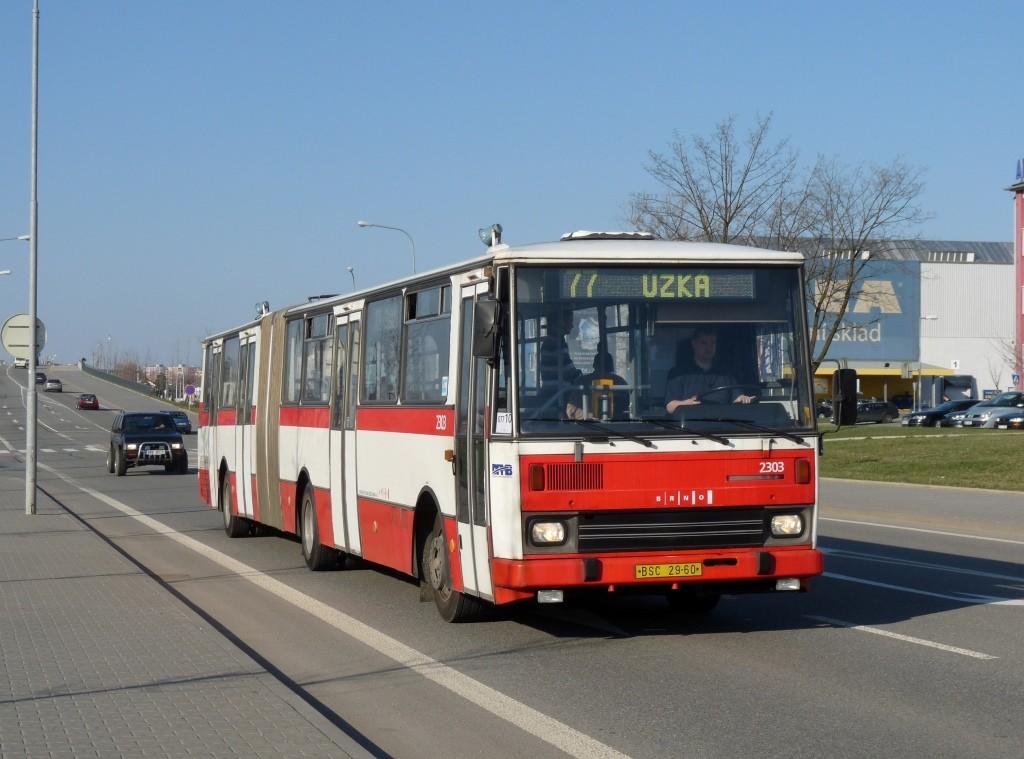 Fotogalerie » Karosa B741.1916 BSC 29-60 2303 | Brno | Slatina | Tuřanka
