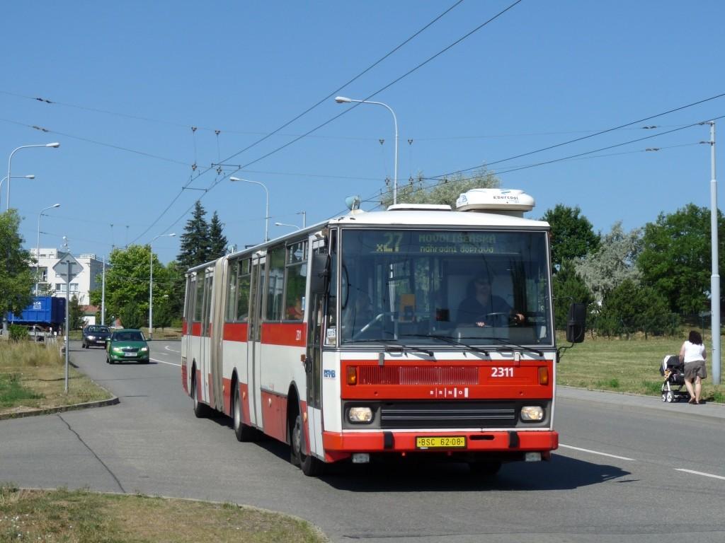 Fotogalerie » Karosa B741.1924 BSC 62-08 2311 | Brno | Vinohrady | Věstonická