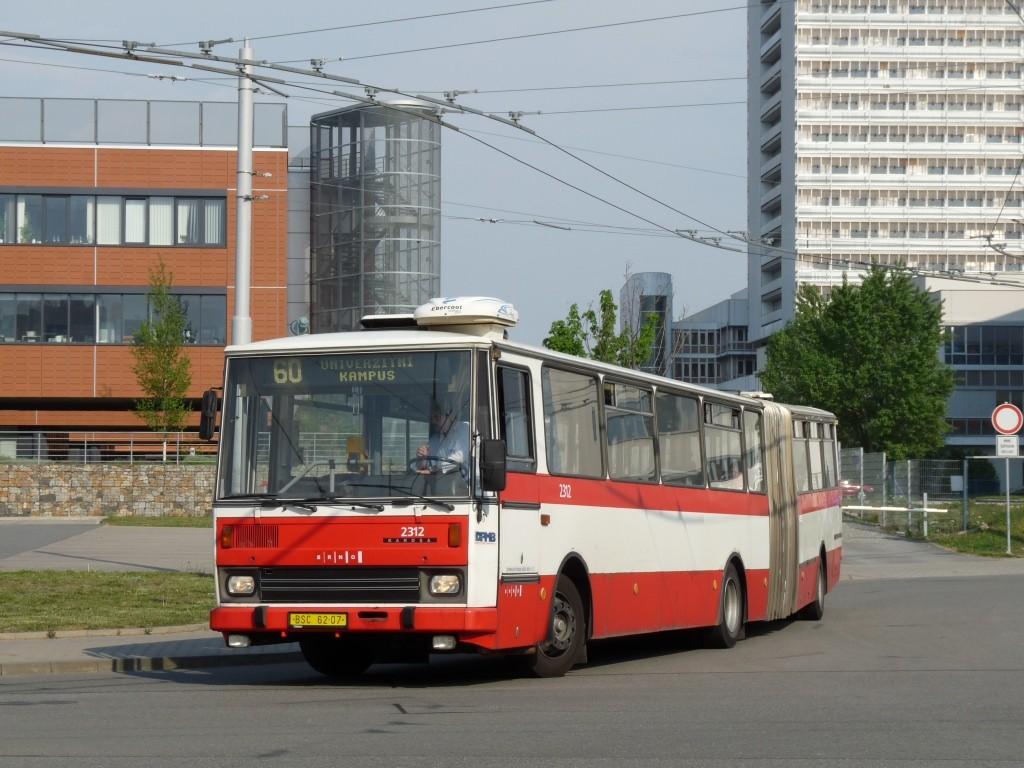 Fotogalerie » Karosa B741.1924 BSC 62-07 2312 | Brno | Bohunice | Netroufalky