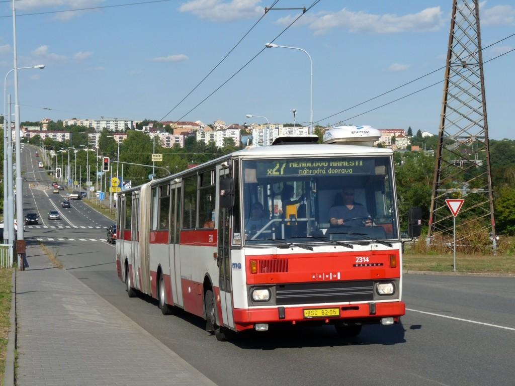 Fotogalerie » Karosa B741.1924 BSC 62-05 2314 | Brno | Vinohrady | Věstonická