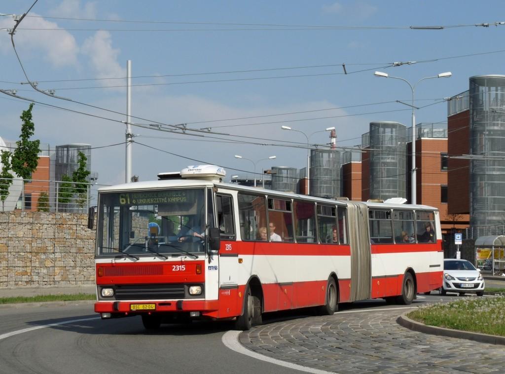 Fotogalerie » Karosa B741.1924 BSC 62-04 2315 | Brno | Bohunice | Netroufalky