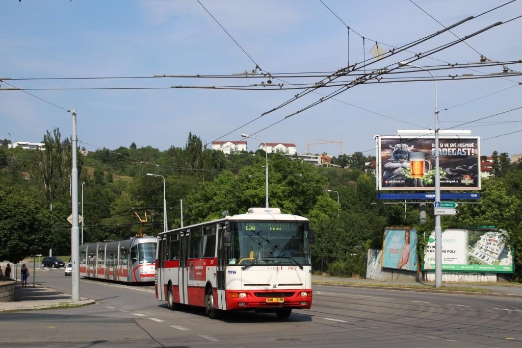 Fotogalerie » Karosa B931E.1707 BSH 16-29 7467 | Brno | Královo Pole | Kosmova
