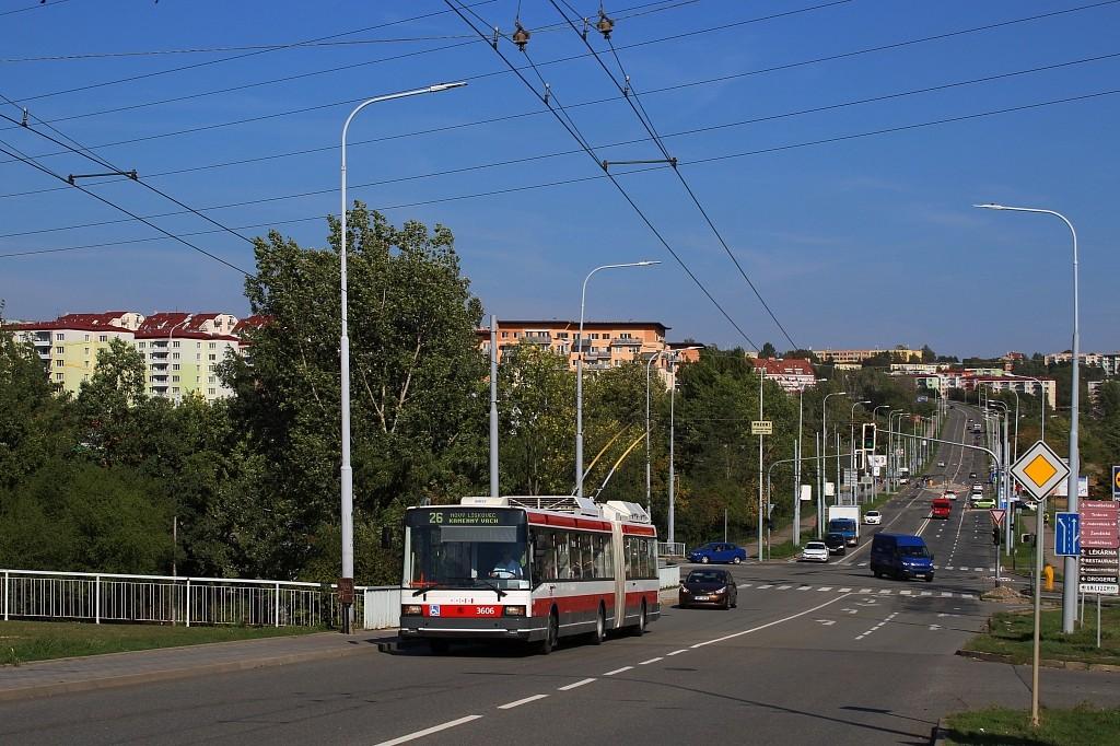 Fotogalerie » Škoda 22Tr 3606 | Brno | Líšeň | Křtinská