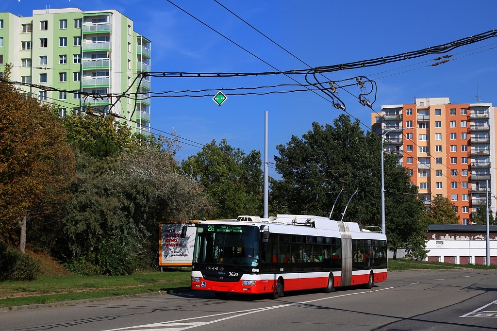 Fotogalerie » Škoda 31Tr 3630 | Brno | Vinohrady | Věstonická