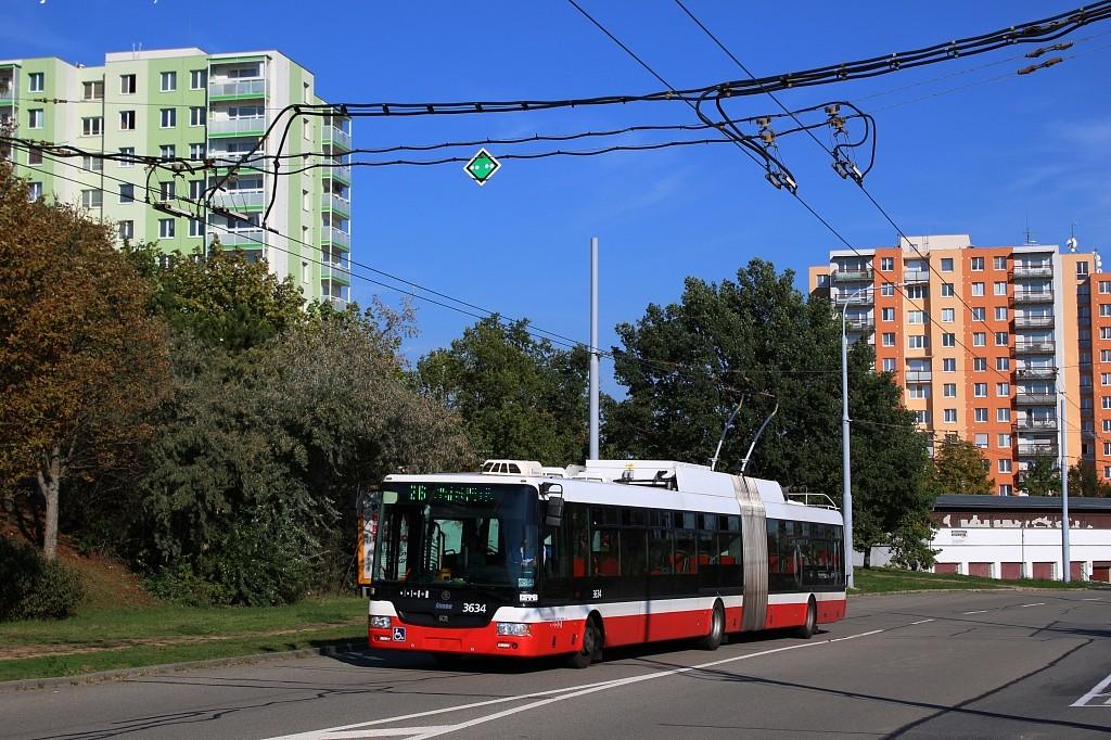Fotogalerie » Škoda 31Tr 3634 | Brno | Vinohrady | Věstonická