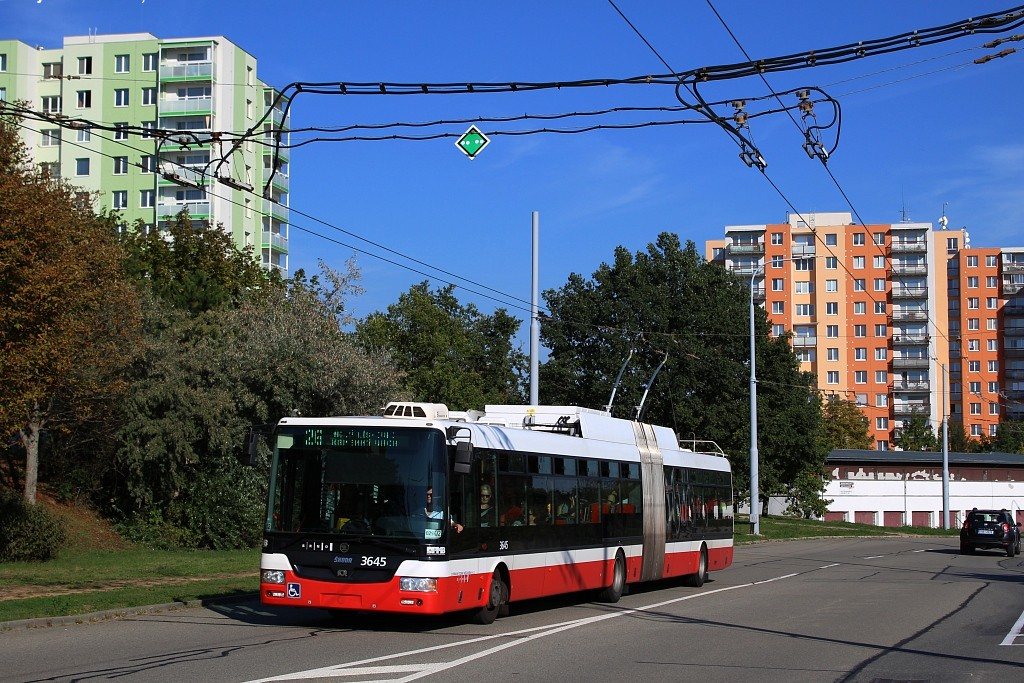 Fotogalerie » Škoda 31Tr 3645 | Brno | Vinohrady | Věstonická