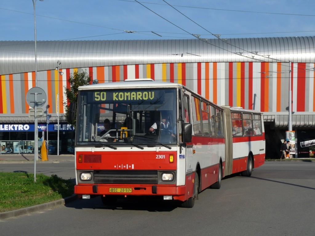 Fotogalerie » Karosa B741.1916 BSC 28-97 2301 | Brno | Bohunice | Netroufalky
